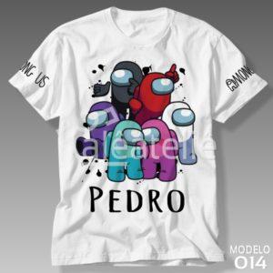 Camiseta Among Us 014