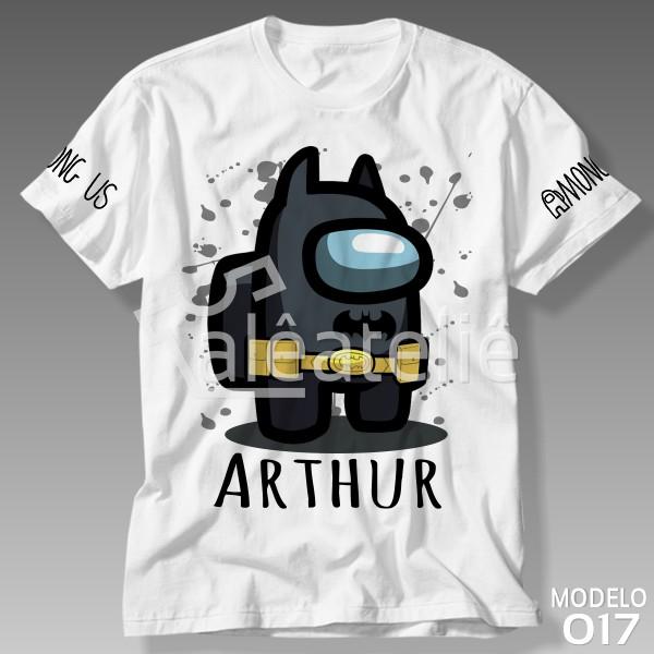 Camiseta Among Us Batman