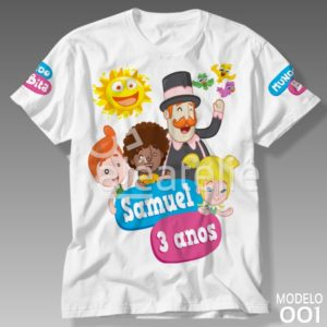 Camiseta Mundo Bita 001
