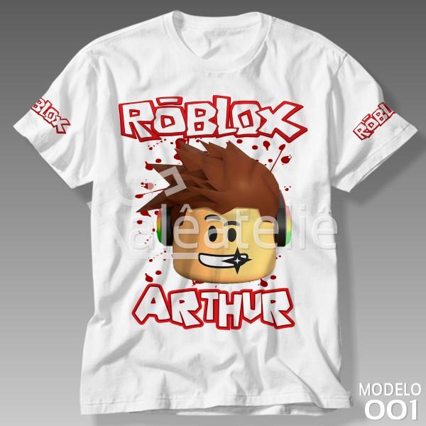 Camiseta Roblox Personalizada