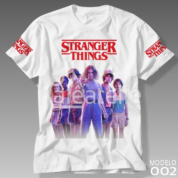Camiseta Stranger Things Personalizada