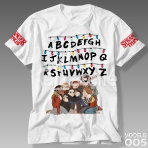 Camiseta Stranger Things 005