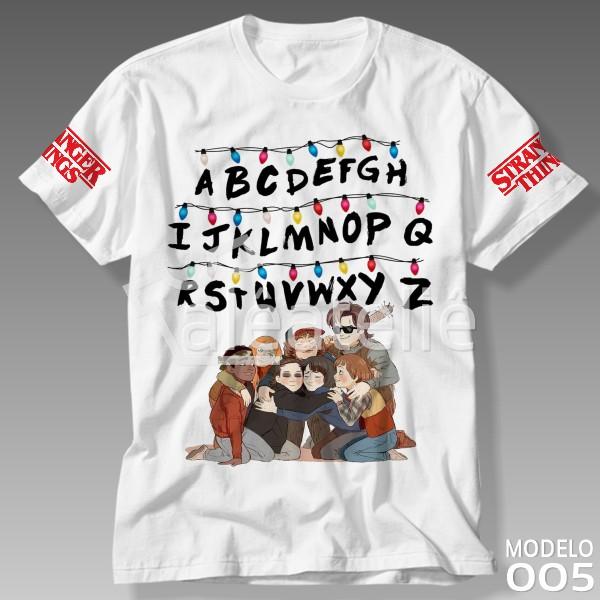 Camiseta Stranger Things Friends