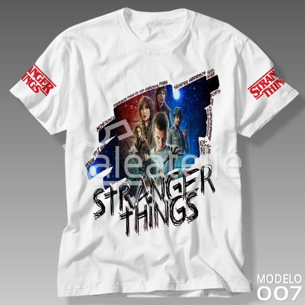 Camiseta Stranger Things Netflix