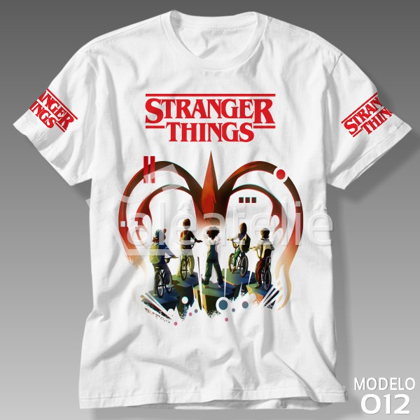 Camiseta Stranger Things Série