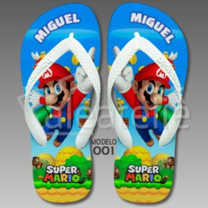 Chinelo Mario Bros