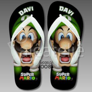 Chinelo Mario Bros 008