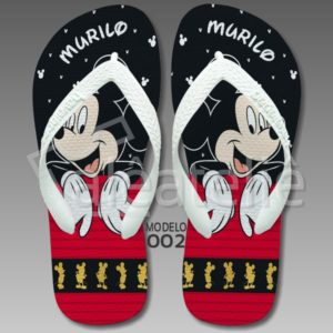 Chinelo Mickey Mouse 002