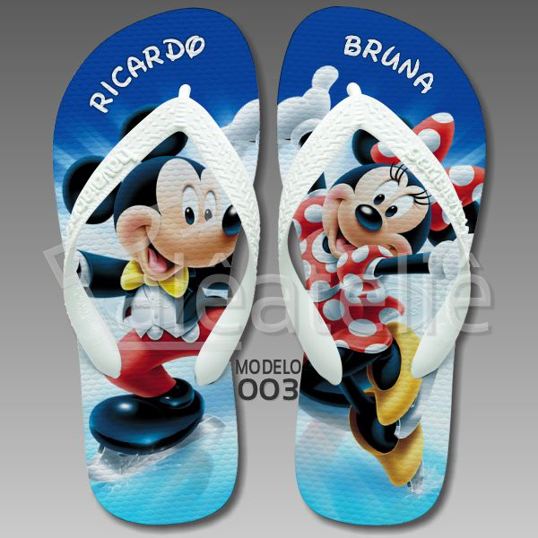 Chinelo Mickey Minnie