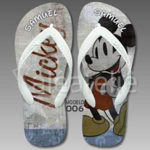 Chinelo Mickey Mouse 006