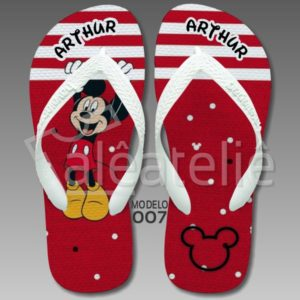 Chinelo Mickey Mouse 007