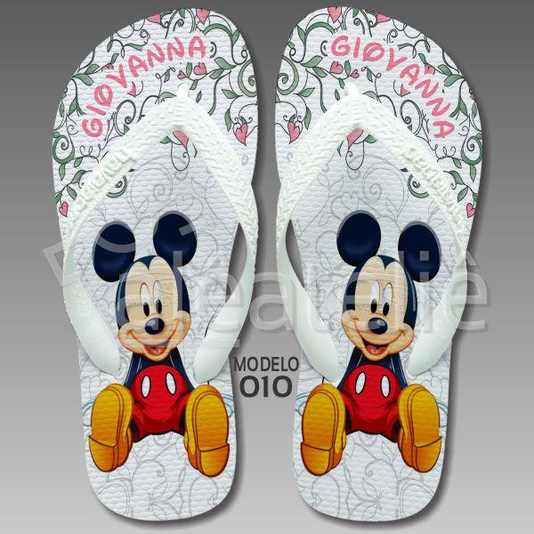 Chinelo Mickey Lembrança