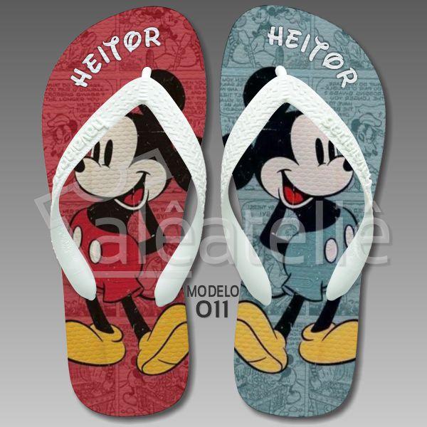 Chinelo Mickey Disney