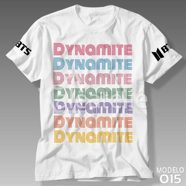 Camiseta Bts Dynamite