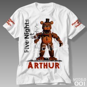 Camiseta Five Nights at Freddy