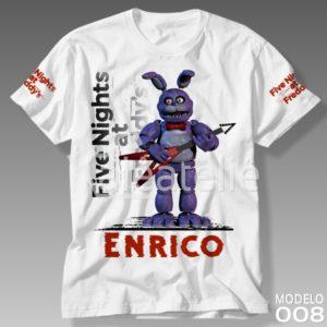Camiseta Five Nights at Freddy Bonnie