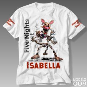 Camiseta Five Nights at Freddy Mangle