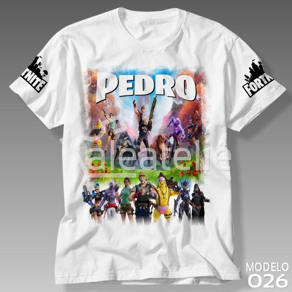 Camiseta Fortnite Temporada 6