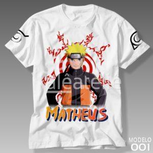 Camiseta Naruto 001