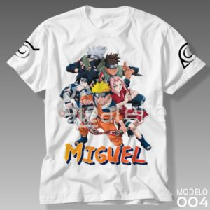 Camiseta Naruto 004