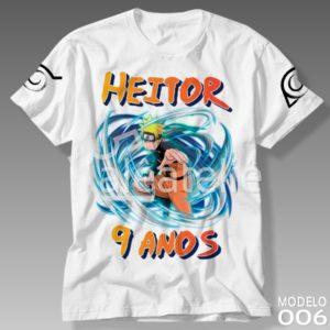 Camiseta Naruto 006