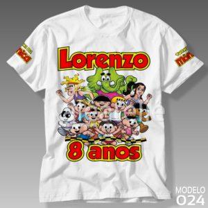 Camiseta Festa Turma Mônica