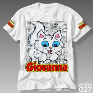 Camiseta Mingau Turma da Mônica