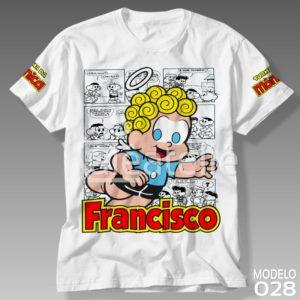 Camiseta Turma da Mônica 028